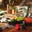 Valcová Sviečka 'anita' - lila/svetlohnedá, Moderný (6,3/10cm) - Premium Living