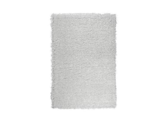 Hochflorteppich Glossy - Weiß, Basics, Textil (80/150cm) - Luca Bessoni